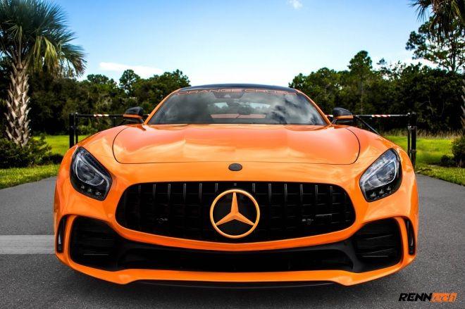 所謂馬力沒上限大概就指Renntech Mercedes-AMG GTR吧!