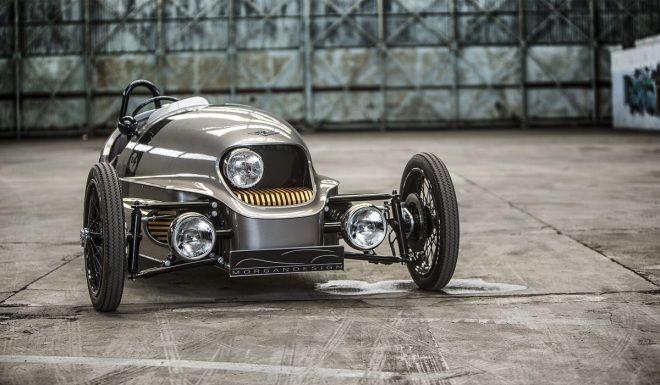 純電動復古車量產  Morgan EV3 2018年開始