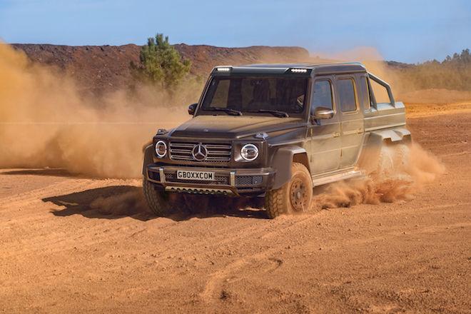 既然Mercedes-Benz G-Class已發表,但生人勿近版本「G-Wagen 6×6」六輪巨獸呢?看看這篇也許你會有些概念!
