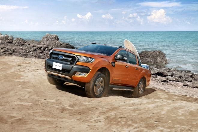 Ford Ranger台灣同級市佔率超越八成  穩居運動皮卡領導地位