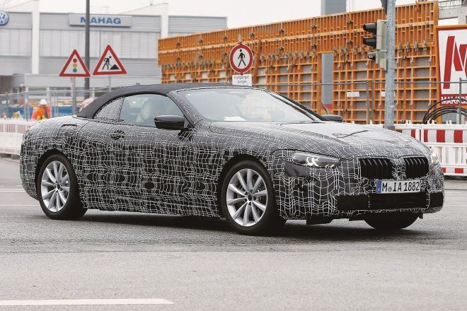 BMW 8 Series Coupe/Cabriolet雙雙捕獲!(影片)