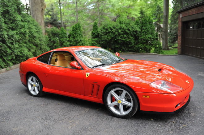 在我們再次回味經典的2002 Ferrari 575M!歷經15年漫長歲月,如今再次以驕傲之姿重返拍賣會