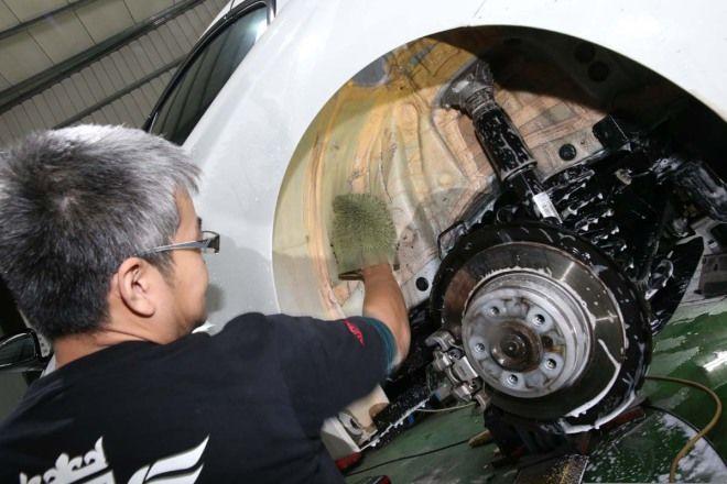 甚麼是專業隔音技巧 (6)--輪拱上下隔音  減少輪胎滾動噪音