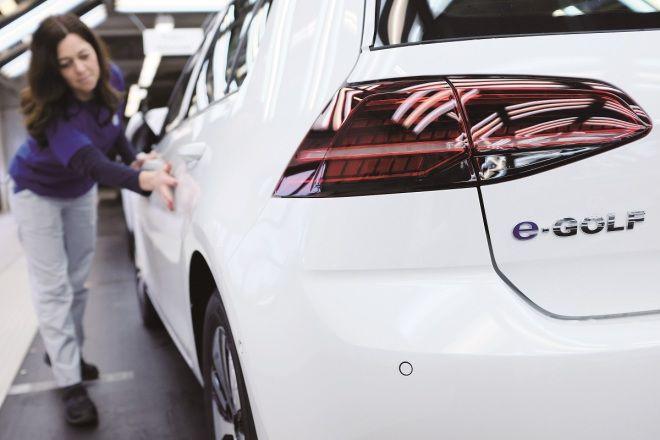 VW去年生產超過600萬部新車