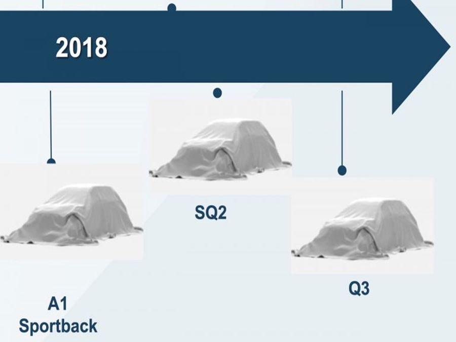 Audi今年新車上市計畫 小型車佔最大比例