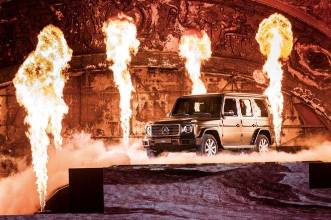 石破天驚 Mercedes-Benz G-Class重量減輕170公斤