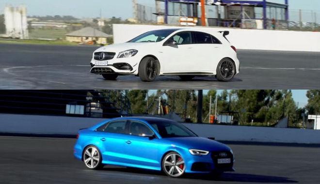 AMG A45與RS3四門轎車動力都很大 但它們能漂移嗎???