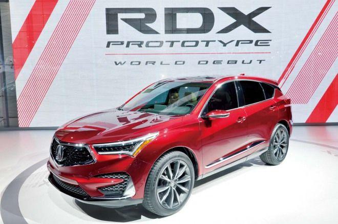 Acura RDX看起來其實一點都不概念 算是量產前的最後一秀