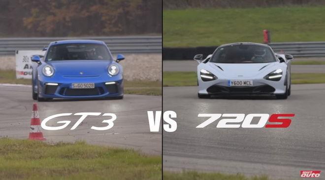 德英跑車之戰 McLaren 720S賽道迎戰Porsche 911 GT3 RS有勝算嗎???