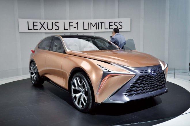 Lexus LF-1 Limitless 車高足足將比現行的LX降低了30公分