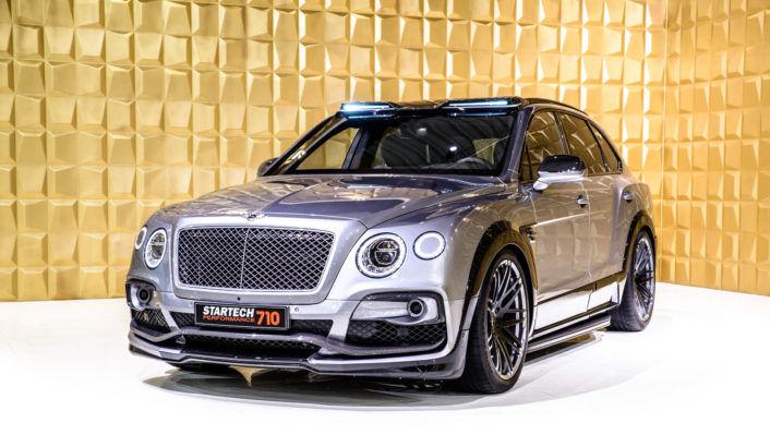貫徹西裝暴力紳士的最佳車型,「Startech」X Bentley Bentayga!讓它帶著你在3.9秒內升天
