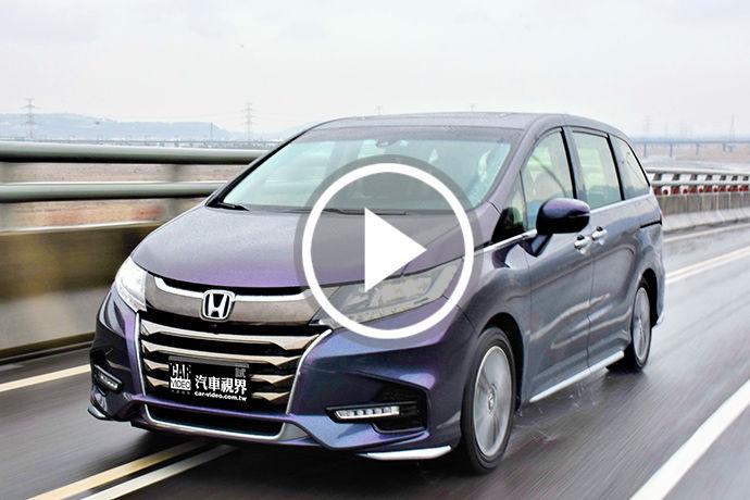 層峰之選 2018 Honda Odyssey