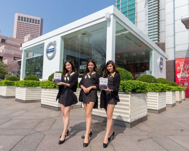 VOLVO在台北 101 購物中心設置 北歐快閃店