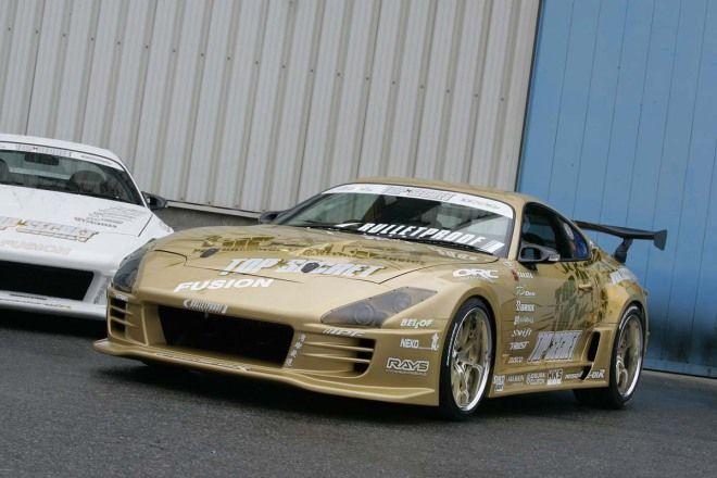 「BH AUCTION」900萬日幣截標1994 Top Secret Toyota Supra V12