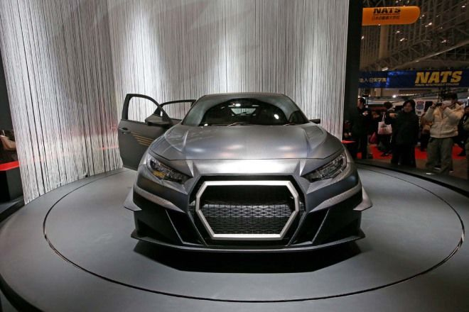 全車乾式碳纖維採用  Mugen RC20GT Civic Type-R Concept