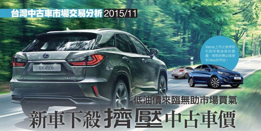 台灣中古車市場~十一月份交易分析