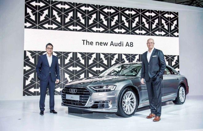 高科技旗艦全新Audi A8預接單價390萬起