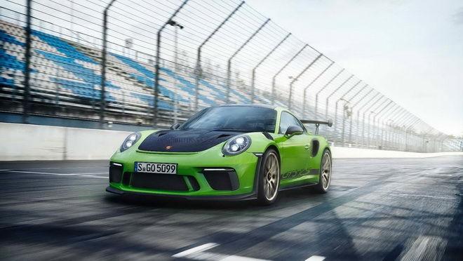 小改款Porsche 911 GT3 RS正式亮相 520hp最大馬力 0-100km/h加速3.2秒搞定!!![影片]