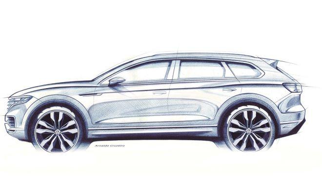 全新VW Touareg 3月北京首演