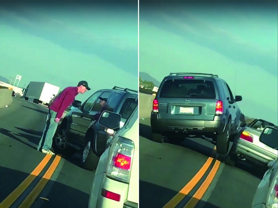 Ford休旅車怒撞BMW跑車 猜猜誰比較慘?