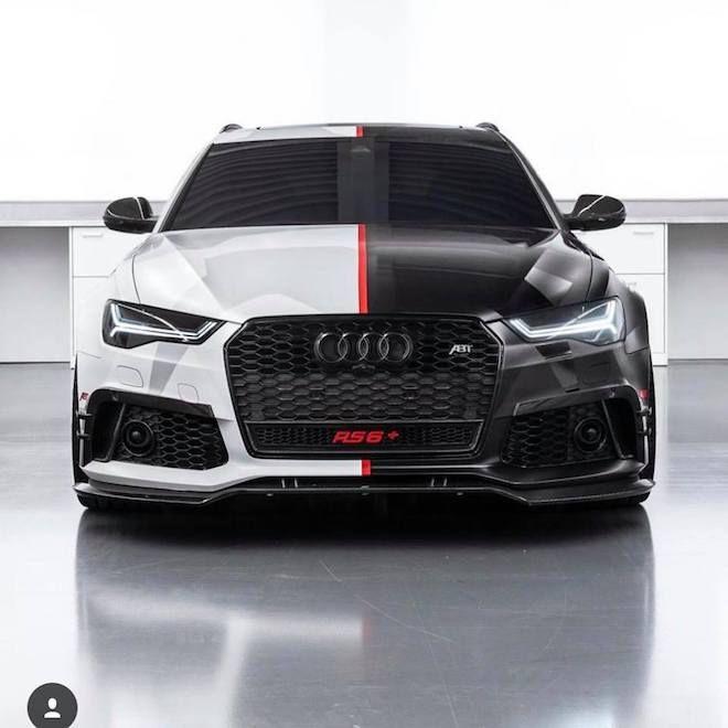 「狂暴黑白郎君」你看看這輛依照極限玩家John Olsson意志所打造的Audi RS6 Avant夠不夠格當帥哥?(內有影片)
