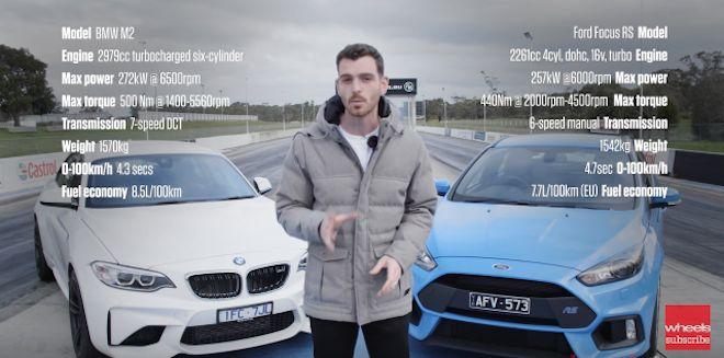 「勢均力敵還是越級打怪?」看看Ford Focus RS單挑BMW M2,誰輸誰贏可是很難講!(內有影片)