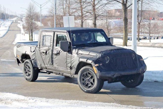 皮卡很秋  Jeep也跳入戰局 Wrangler Scrambler