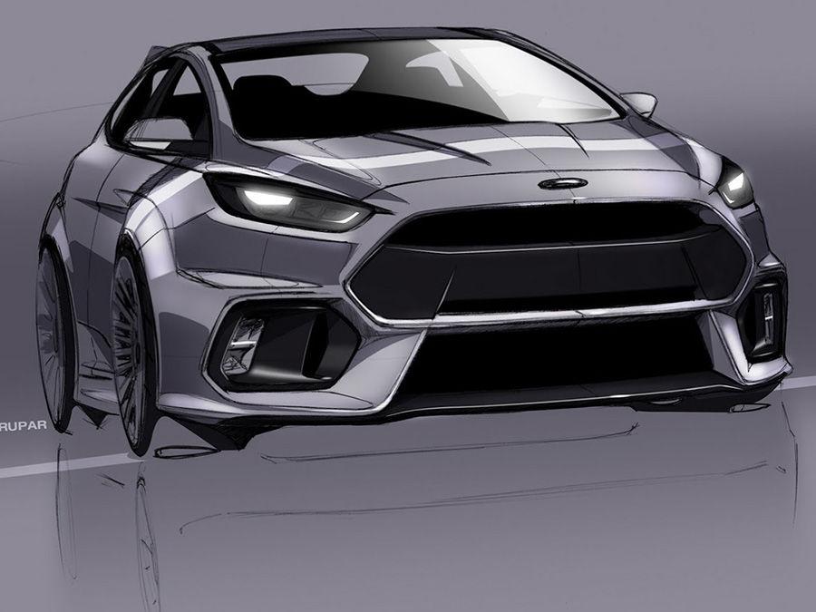 新Ford Focus RS將變身400hp油電鋼炮?還有雙離合器變速箱?