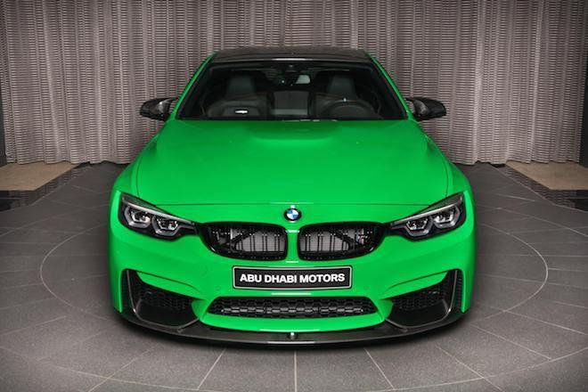 「放射線外洩」看看這輛被「Signal Green」給侵蝕的BMW M4 Coupe。