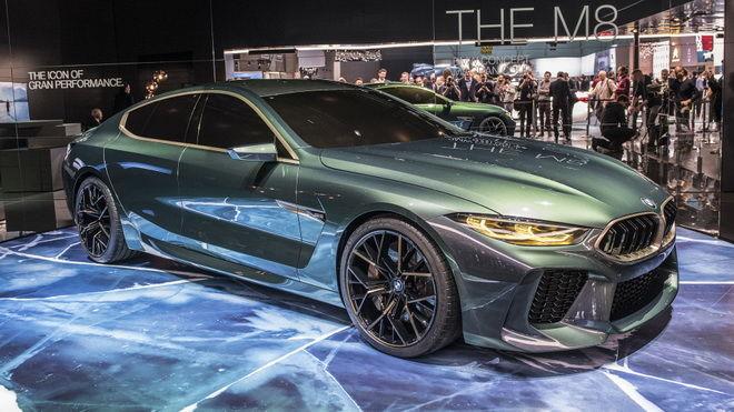 2018日內瓦車展:搶先預覽BMW未來的新旗艦轎車 M8 Gran Coupe Concept正式亮相 帥氣滿分