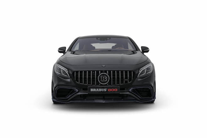 「五米巨獸」Brabus再度祭出重砲火力「800hp+ Mercedes-AMG S63 Coupe 4Matic+」