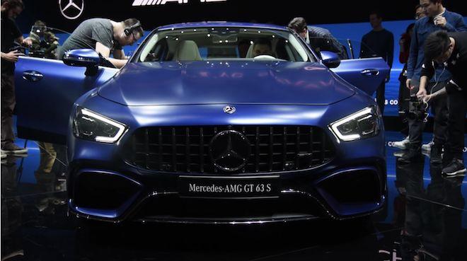德製重砲火力再度出擊,帶你親臨日內瓦車展見識這輛全新怪獸級別的「Mercedes-AMG GT 63 S 4MATIC+」