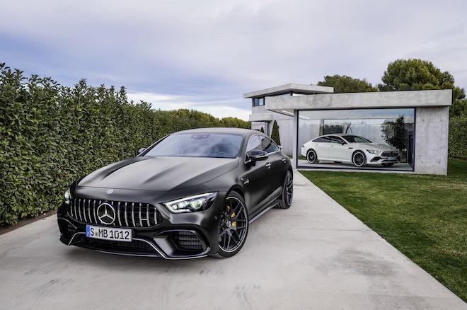 「獨霸四方」地表最速四門跑房車「Mercedes-AMG GT 63 4MATIC+」親臨現場,展現何謂霸氣。