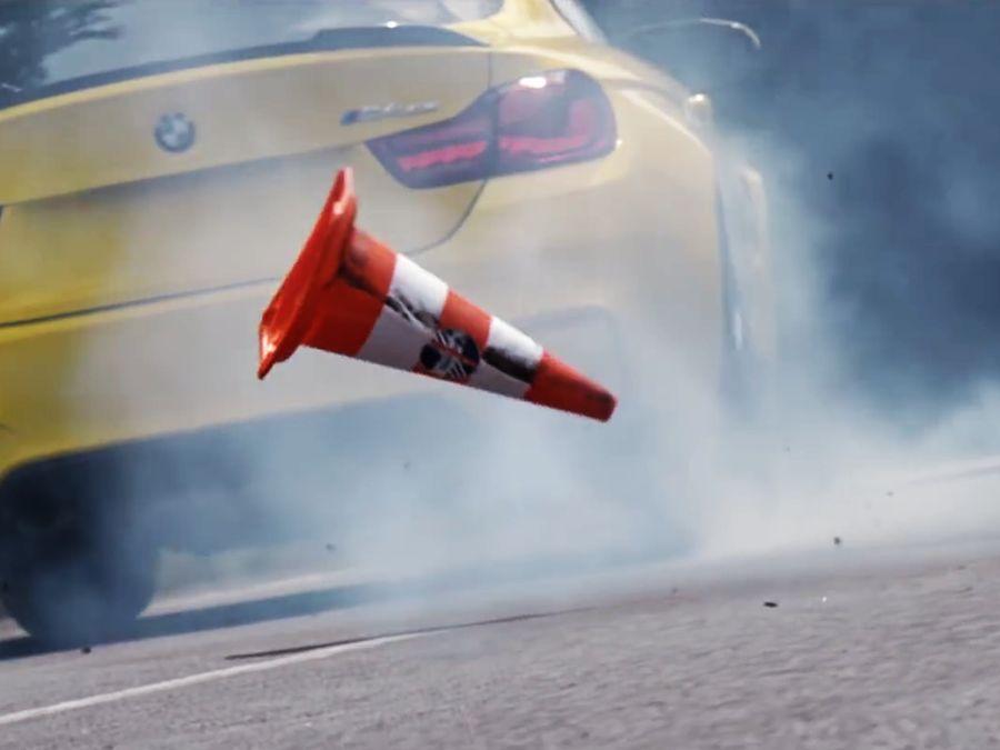 (影片)BMW M4 CS原來是要這樣開的!後輪要每天換吧?