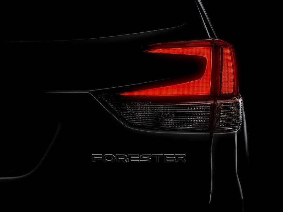全新大改款速霸陸Forester即將現身紐約車展!