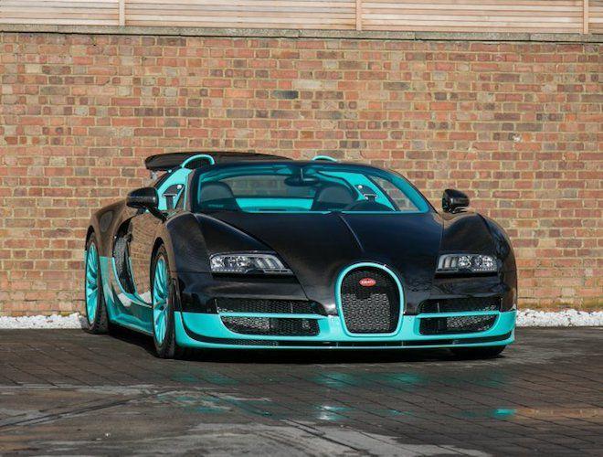「有錢人是這麼玩的」見識這輛詭譎配色的 Bugatti Veyron Grand Sport Vitesse.