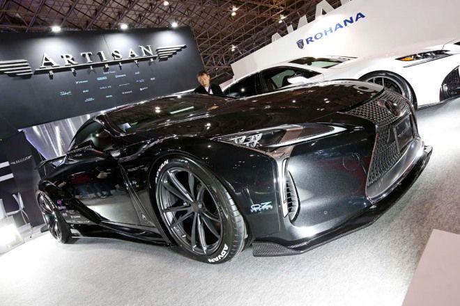 Artisan 打造的夢幻跑車 Lexus LC