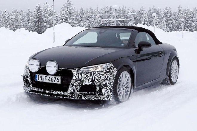 Audi TT才剛推出不久只是小改款?