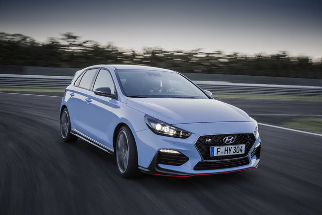 Hyundai表示 i30 N將於2019年底獲得DCT雙離合器自排變速箱