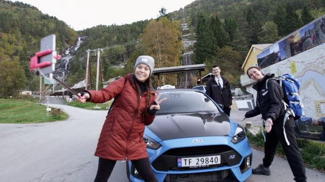 當性能小鋼炮遇見慢活北歐 ─全球第一部Ford Focus RS計程車