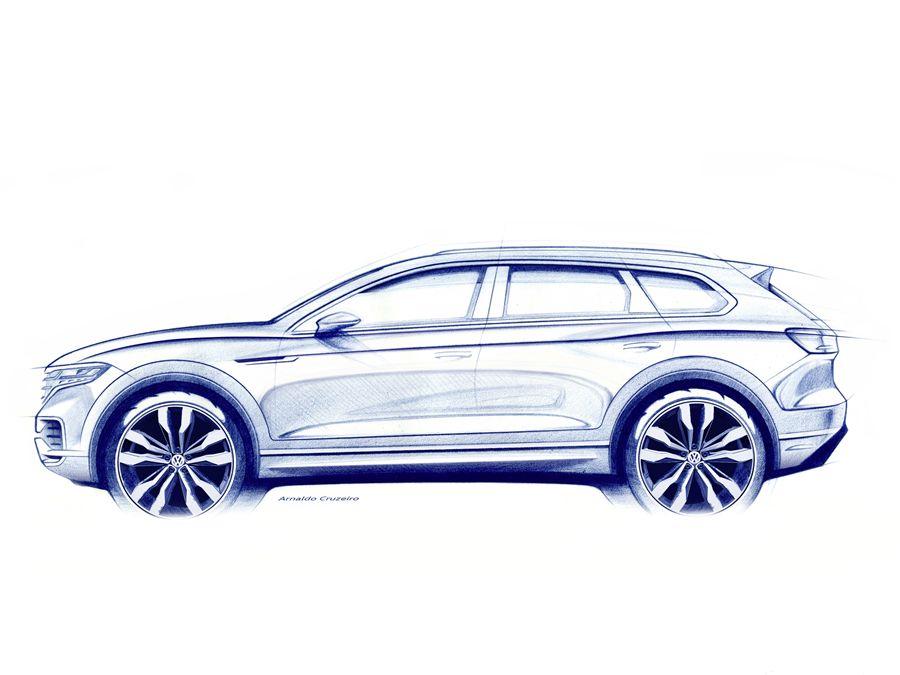 就在明天!全新VW Touareg即將發表!