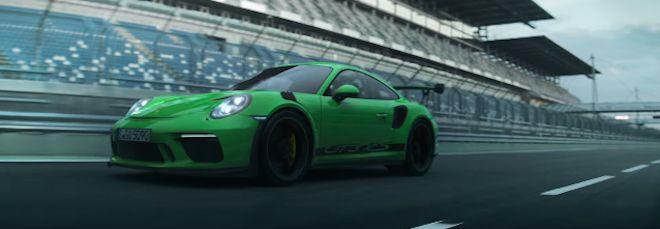 全新Porsche 911 GT3 RS將用它與身俱來的極致操控再次化身為賽道中的惡魔!強 勢 回 歸
