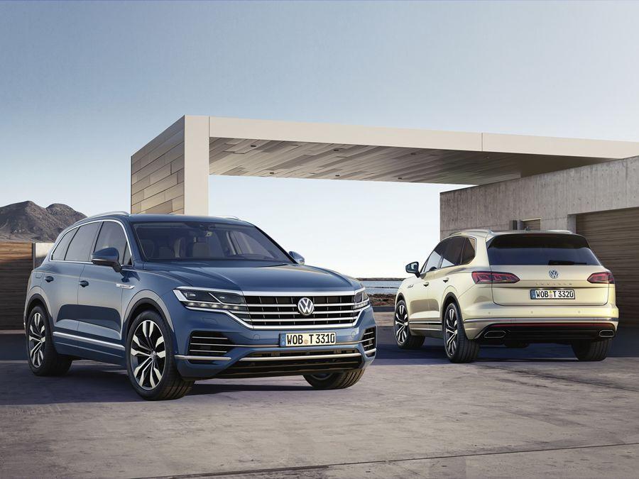 外型變帥!車重變輕! 第三代大改款VW Touareg問世