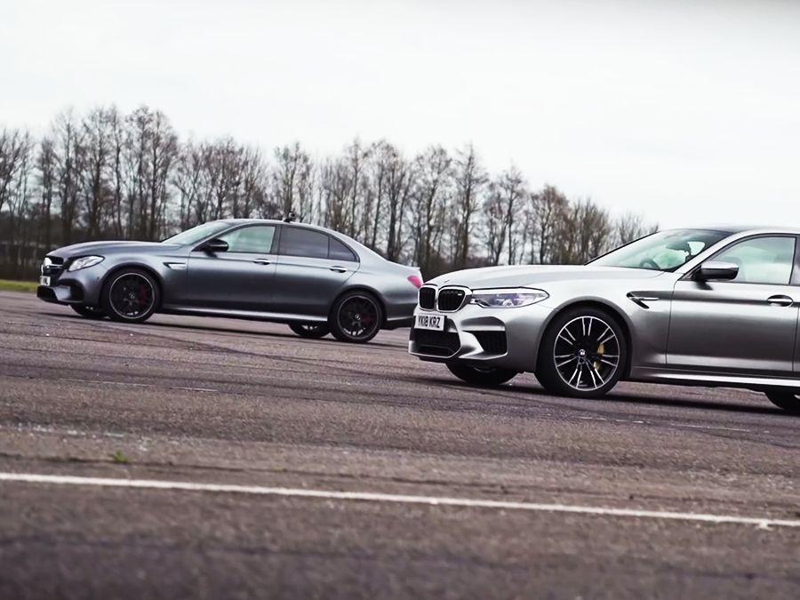 600匹馬力BMW M5贏得了Mercedes-AMG E63 S嗎?