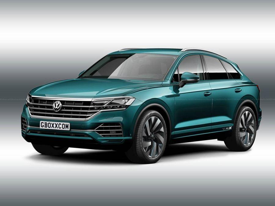 VW 有可能追加Touareg Coupe車款打亂跑車SUV市場?