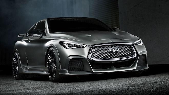 主宰暗黑的高性能跑車 Q60 Project Black S Concept 量產已是時間問題,並將於10月巴黎車展現身