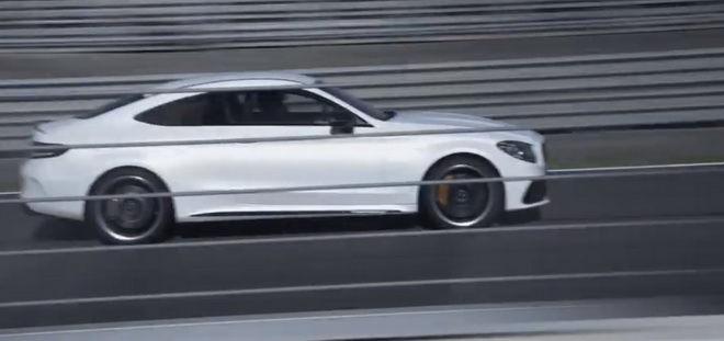 賽道慓悍甩尾宣示 2019小改款Mercedes-AMG C63 Coupe將在紐約登場