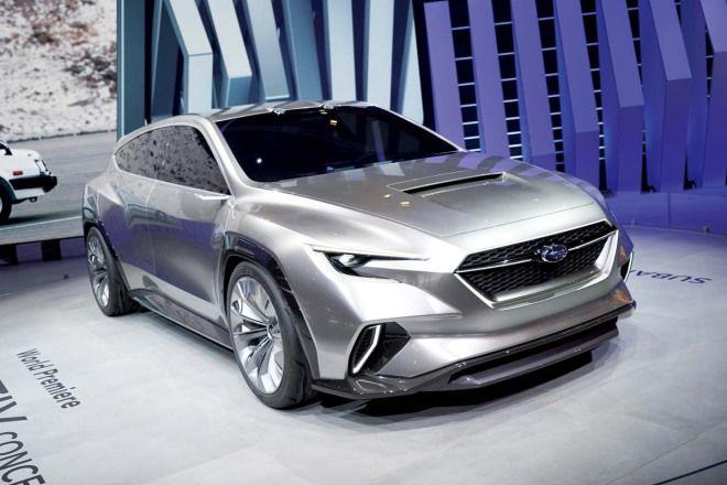 下一代Levorg大改雛型? Subaru Viziv Tourer Concept