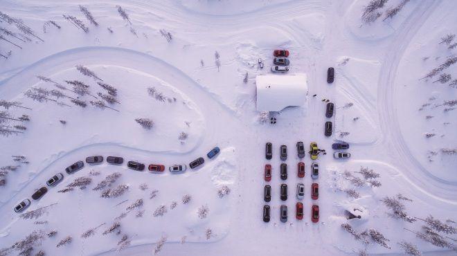 極地翩舞  2018 Skoda 4×4雪地駕訓