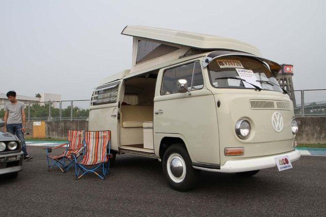 OP頑車聚-經典復古組選美冠軍VW T2露營車